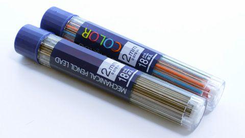大人鉛筆、替え芯、ダイソー1
