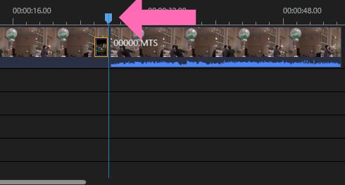 使い方1.動画の分割やカットはメーターで行う