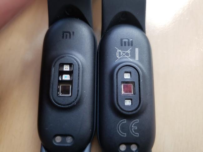 変更点5:心拍計などのセンサーの位置が変わっている