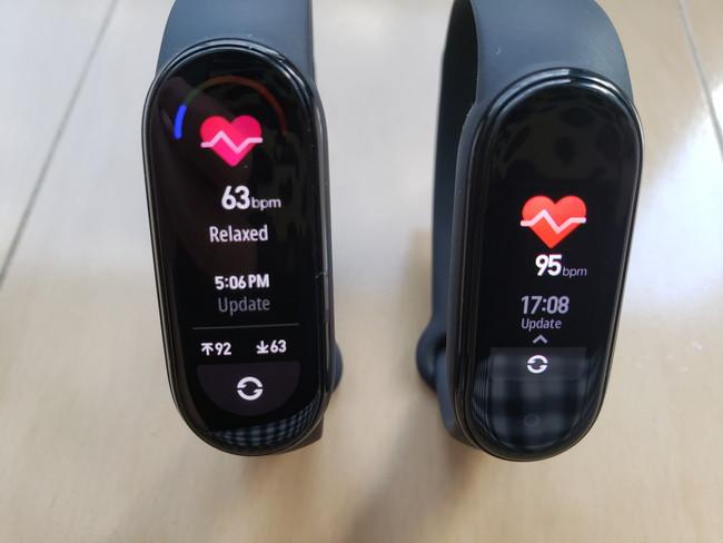 手動で心拍数を計測