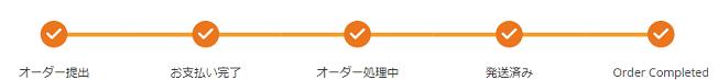 4.サイト内で商品の追跡ができる1
