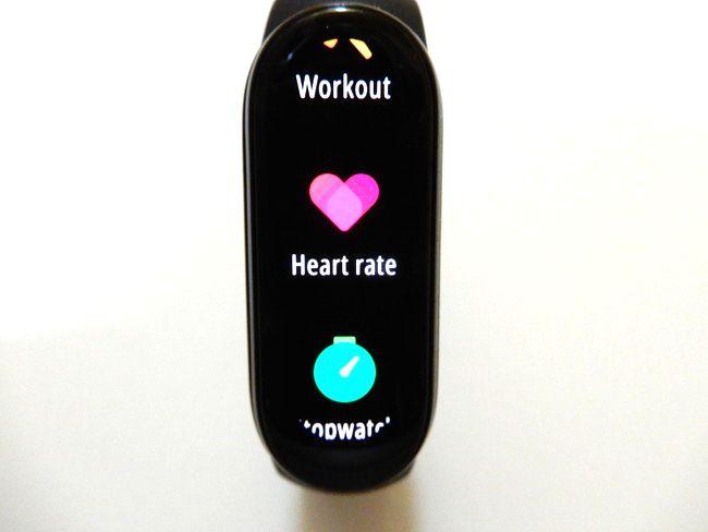 手動で心拍を測る