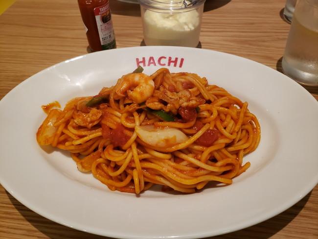 MAGO HACHI KITCHEN(マゴハチキッチン)のナポリタン