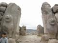 ハットゥシャシュ遺跡(世界遺産 紀元前18世紀) ライオンの門