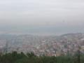 イスタンブールのアジア側のチャムルジャの丘よりヨーロッパ側を望む