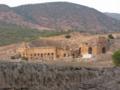 パムッカレ 丘の上のヒエラポリス 円形劇場にも夕陽が
