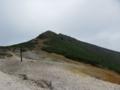 赤岩の頭から硫黄岳方面