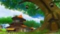 童話の村の雰囲気は、大きな木たちが作ってるのかも