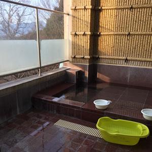 【竹取の間】部屋付き露天風呂