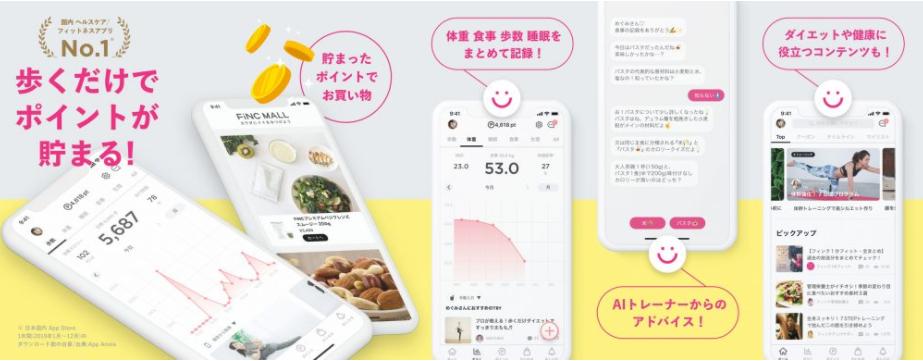 日本通信SIMとセットになったFiNCとは?機能と特徴