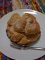 シュガーローゼ(阿佐ヶ谷)のシュークリーム。カスタードが優しい味