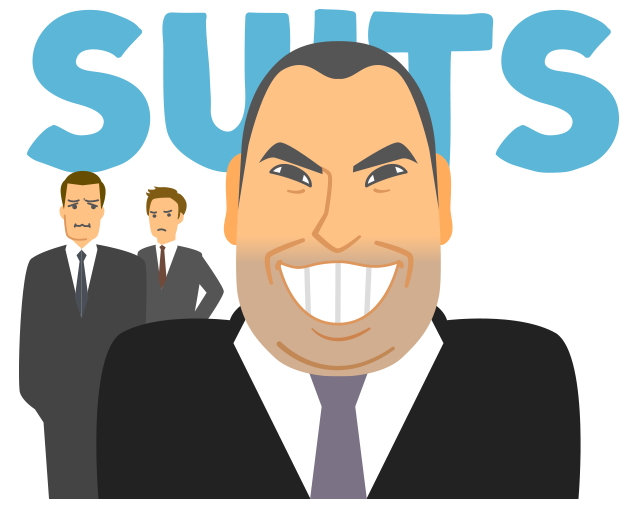 suits season1 Louis Litt