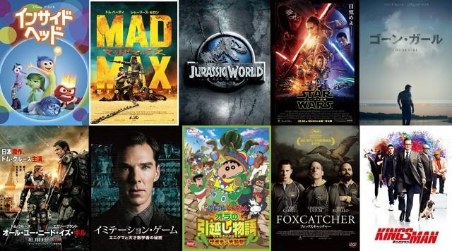 2015年に見た映画ベスト10