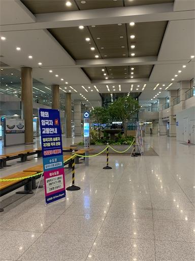 仁川空港入国