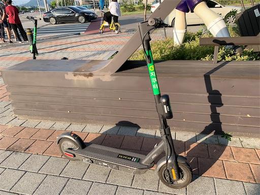 韓国の電動スクーター