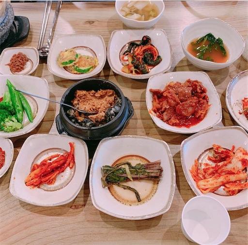 仁川空港近くの韓国料理