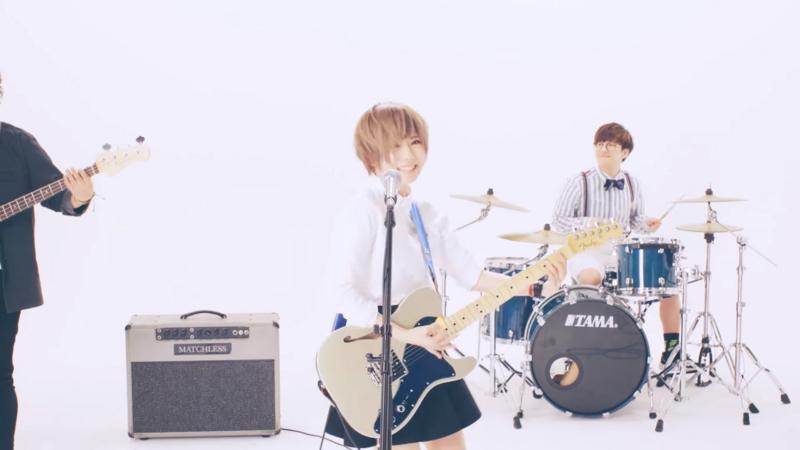 雫さんのギター