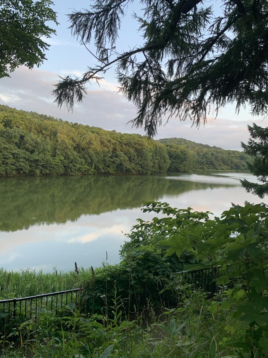 西岡公園の水源地