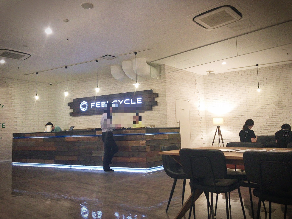FEELCYCLE自由が丘初回体験暗闇エクササイズ