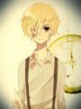 金髪の少年(マッドファーザー)