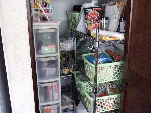 整理した収納庫