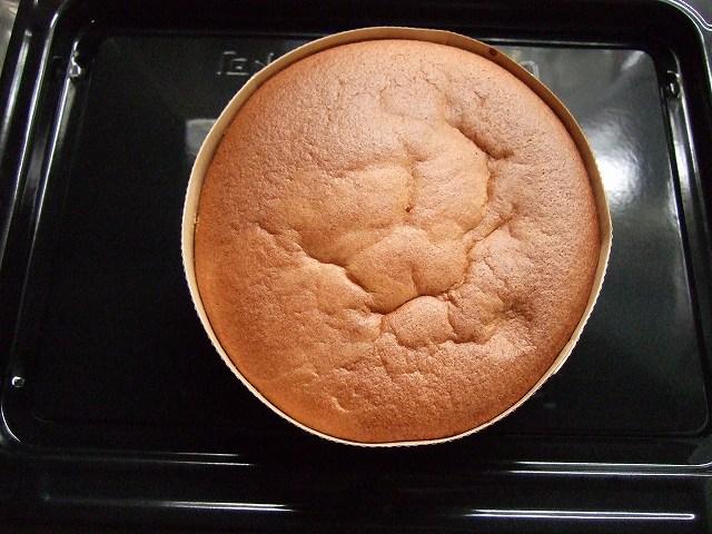 ケーキのスポンジ