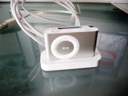 iPod Shuffle with dock