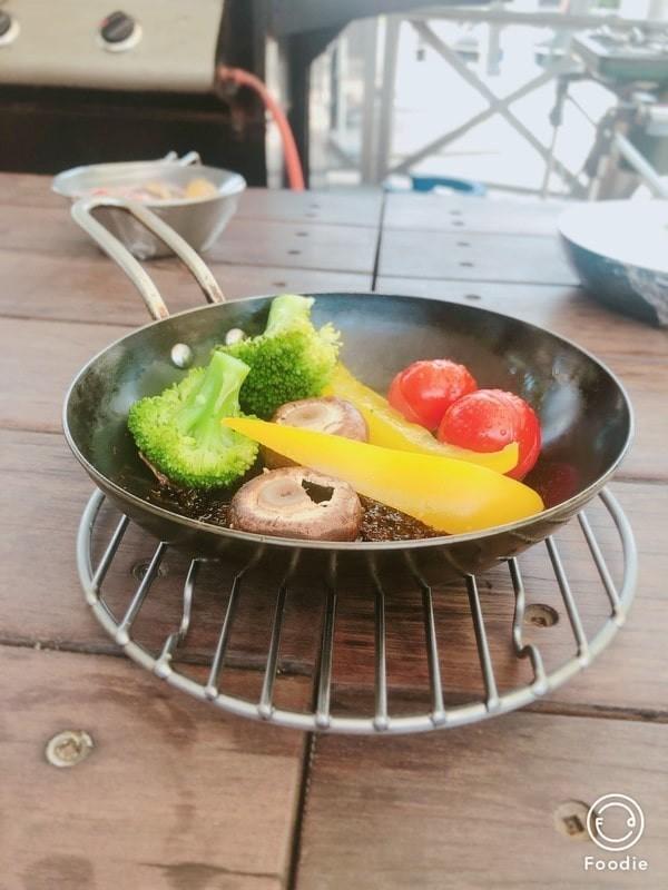 季節野菜のダッチオーブンスチーム焼き