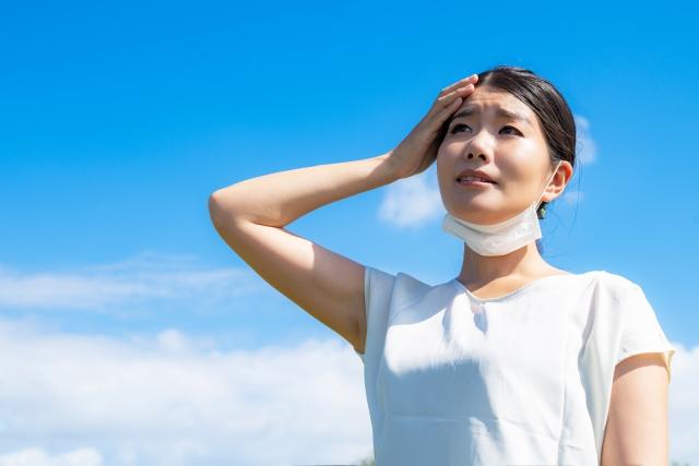 マスクを外す時間を増やして負担を軽減する