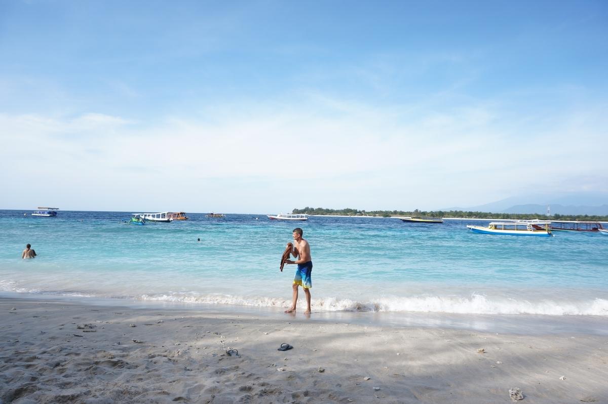 インドネシアの楽園
