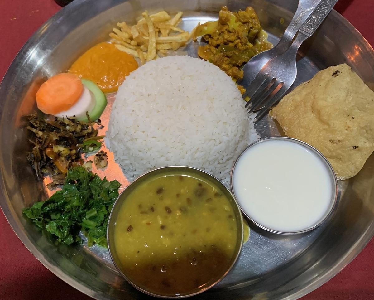 おすすめの世界の料理④ダルバート(ネパール)
