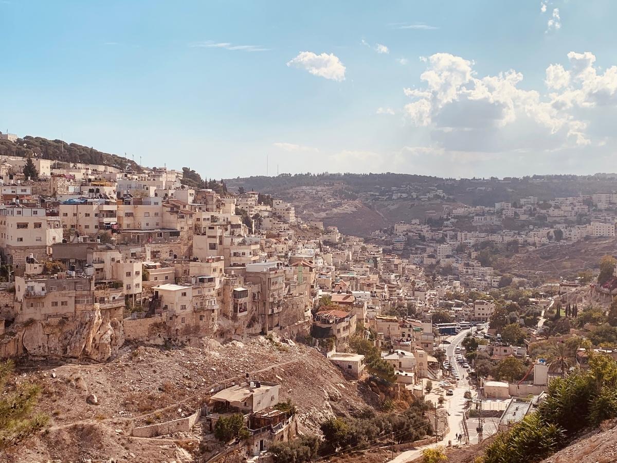 エルサレムはイスラエル、パレスチナ問題の焦点