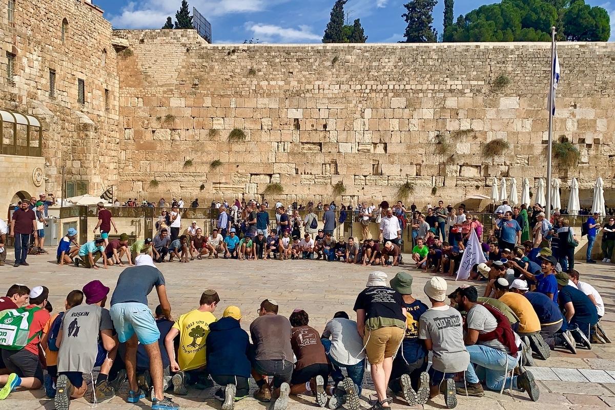 ユダヤ教の聖地「嘆きの壁」