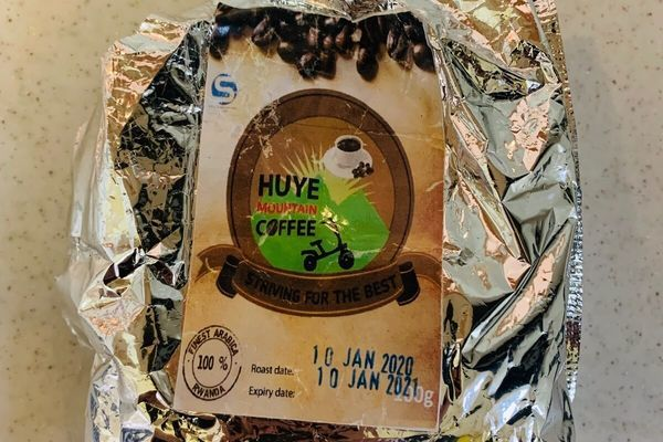 フイエコーヒーマウンテンでもらったコーヒー粉