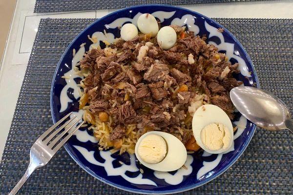 世界の料理②プロフ(ウズベキスタン)