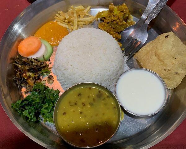 世界の料理④ダルバート(ネパール)