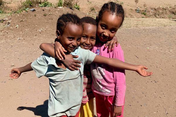 ゴンダールの子どもたち(エチオピア)