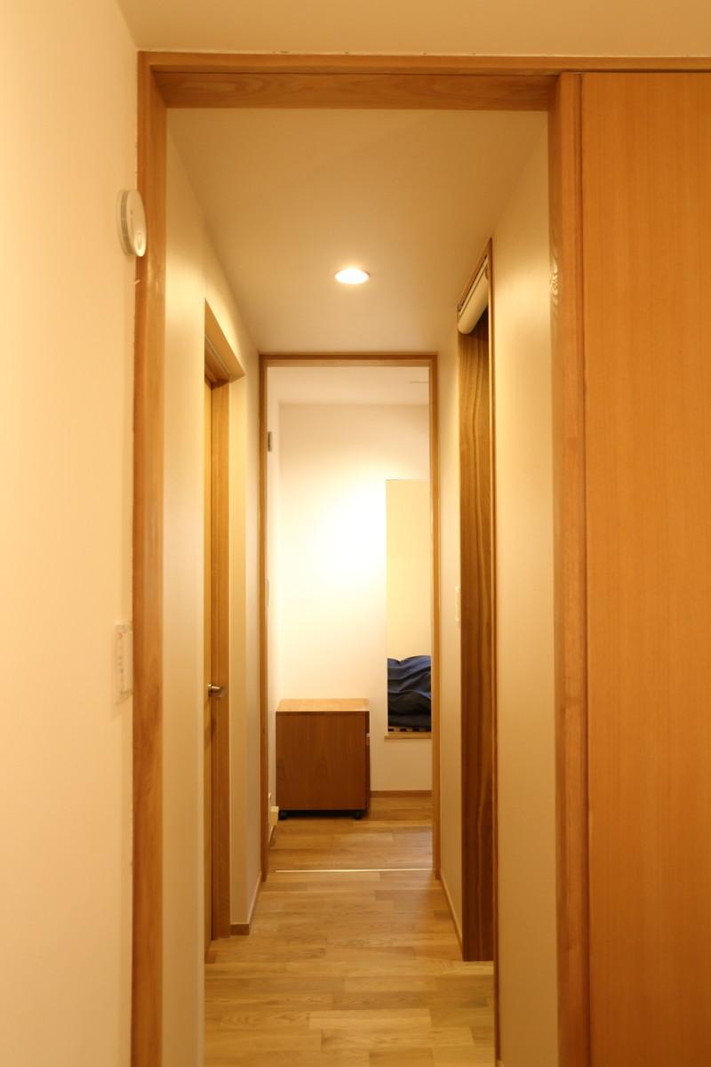 1畳分の専用廊下で繋がる夫婦別室