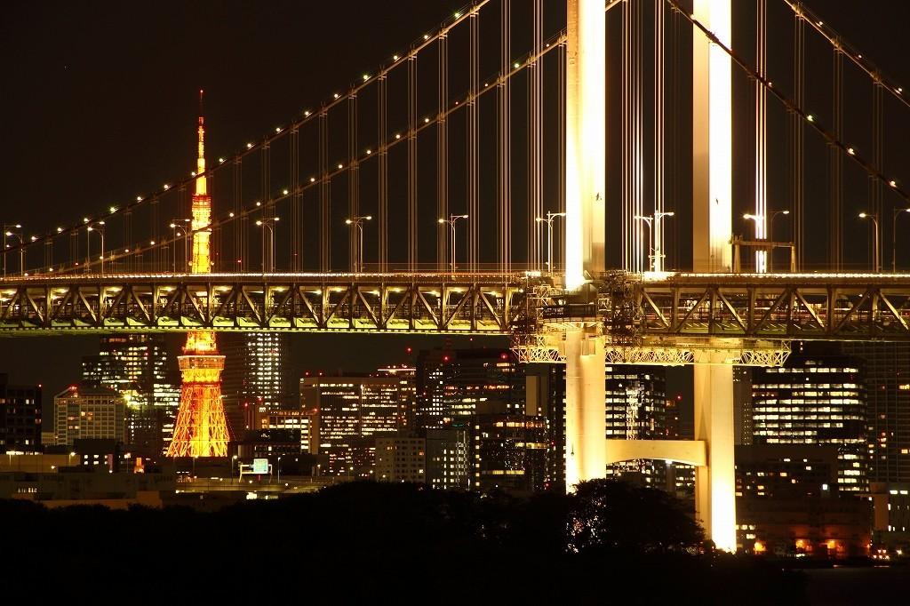 お台場からの東京タワー