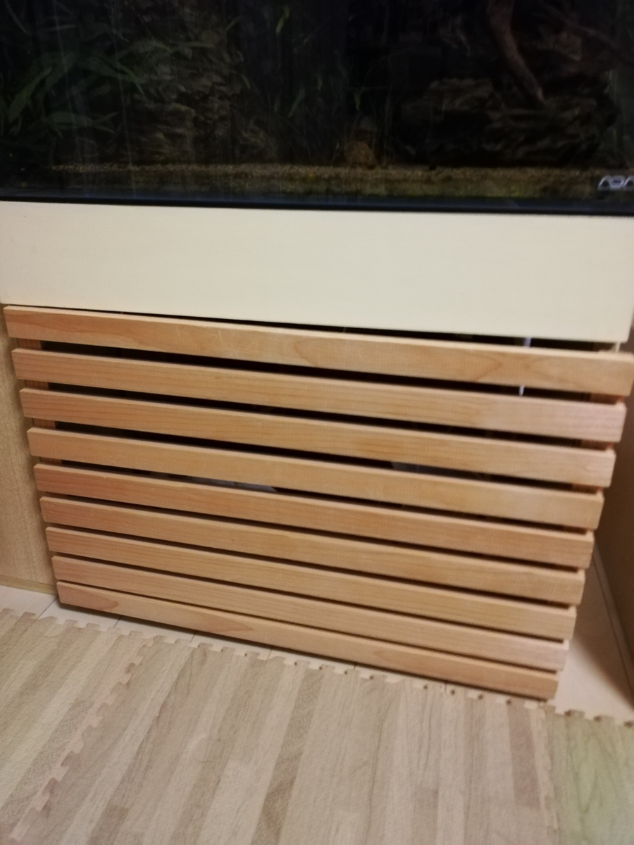 台 自作 水槽 絶対に潰れない頑丈な水槽台の作り方