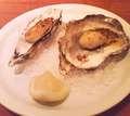 牡蠣のバターソテー@オイスターバー