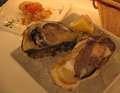 京都丹後の岩牡蠣@オイスターバー