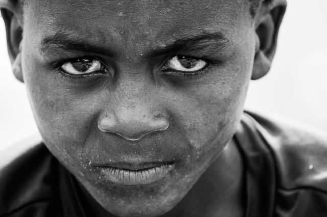 アフリカの子供の写真