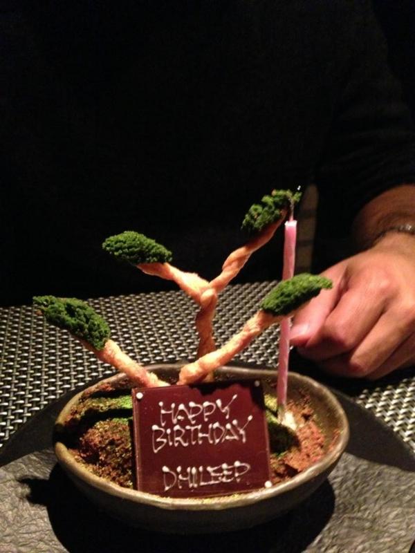 忍者レストラン 創作料理 予約で誕生日のことを伝えたらサプライズケーキを用意してくれた 感想 評判 口コミ