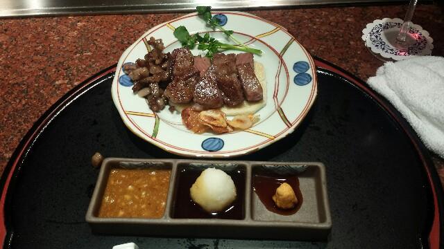 土肥亭 鉄板焼き ステーキ シーフード