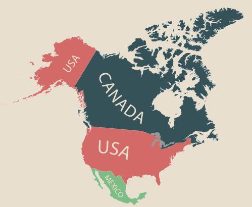 物価 アメリカ 地図