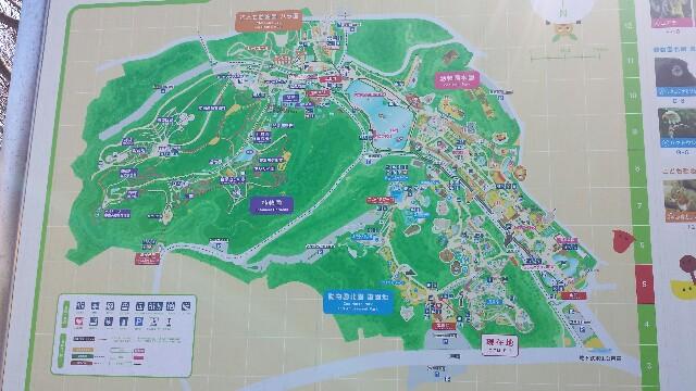 東山動物園 地図 広い
