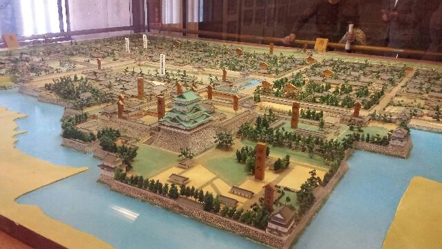 名古屋城の中の写真