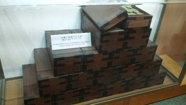 名古屋城 金のシャチホコにしようされた相当量の小判