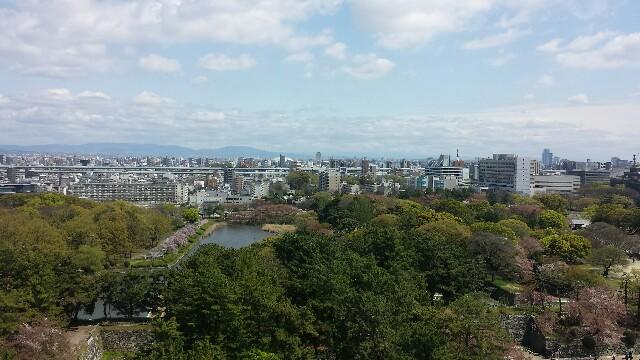 名古屋城からの景観 写真